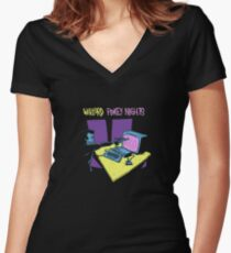 Warlord - Pokey Nights Women's Fitted V-Neck T-Shirt