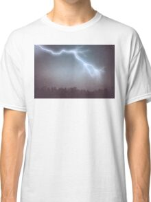 Storm Clouds and Lightning Classic T-Shirt