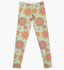 Flower Mandalas Leggings