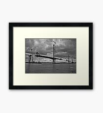 Queensferry Crossing Framed Print