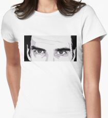 Nick Cave Portrait Women's Fitted T-Shirt