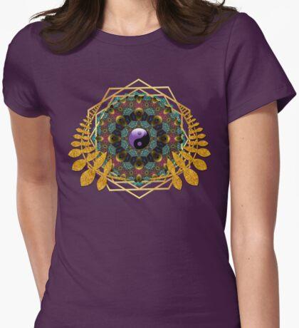 Yin Yang Balance | Geometry Mandala T-Shirt