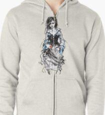 The return of Snow White Zipped Hoodie