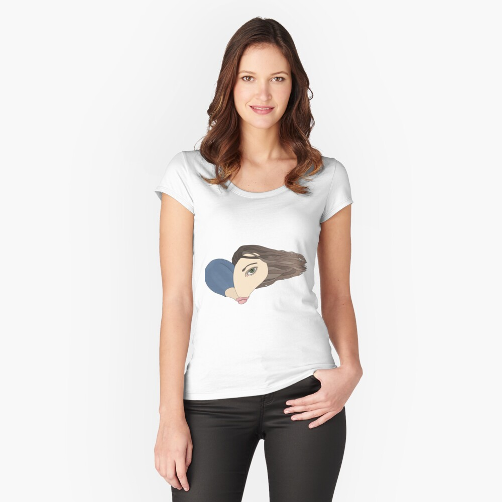 The Heart of Me Fitted Scoop T-Shirt