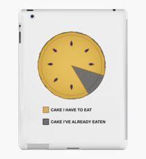 Cake Chart! iPad Case/Skin
