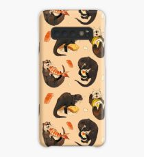 Tiny otters and their sushi Case/Skin for Samsung Galaxy