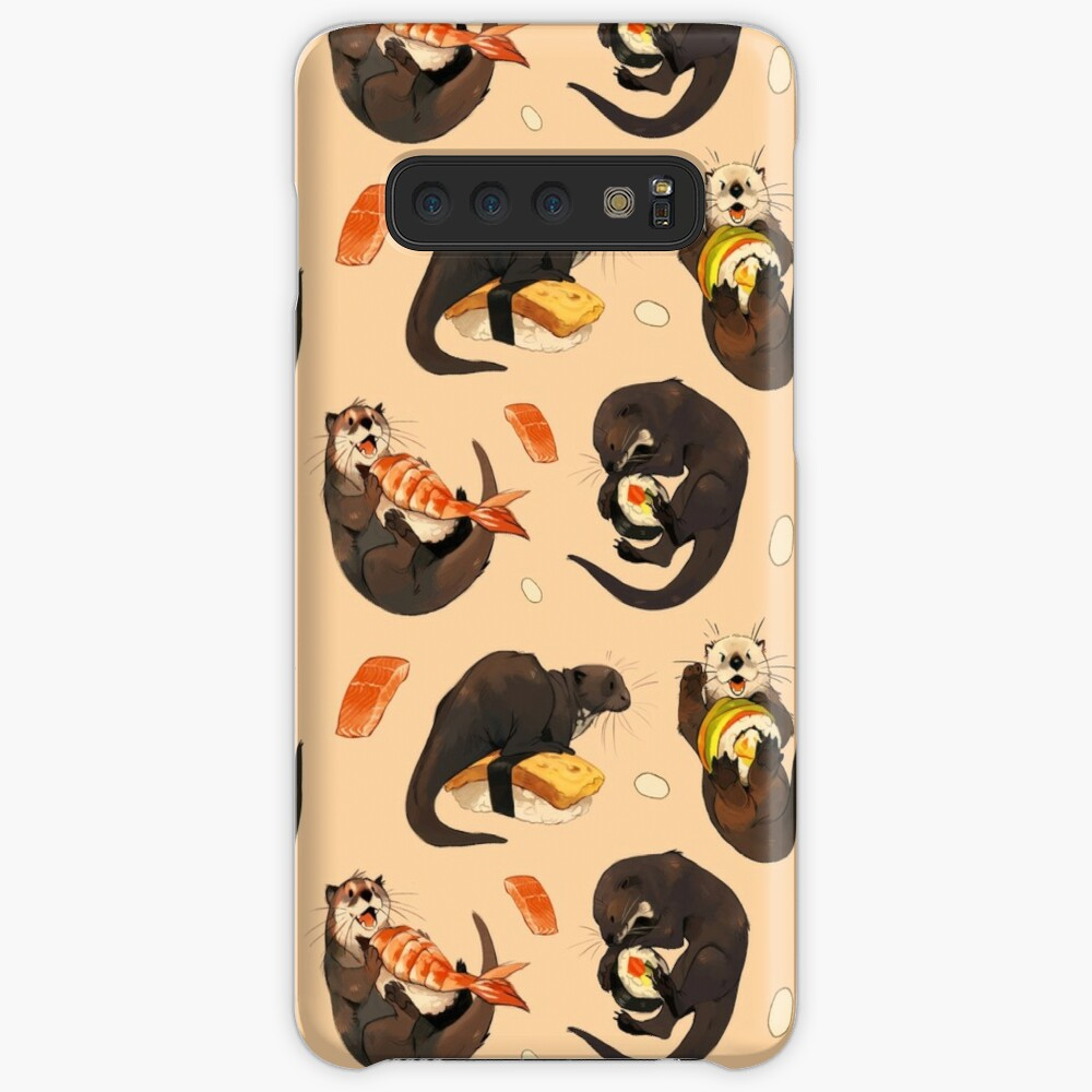 Tiny otters and their sushi Case & Skin for Samsung Galaxy
