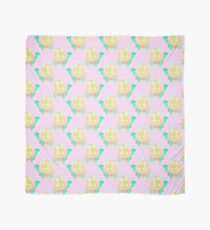 Pastel Flower Tortoise Pattern Scarf