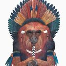«Mono de fuego rojo» de Ruta Dumalakaite
