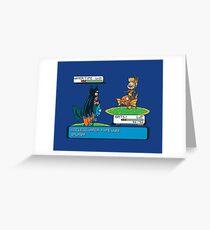 Useless Water Type Greeting Card