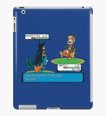 Useless Water Type iPad Case/Skin