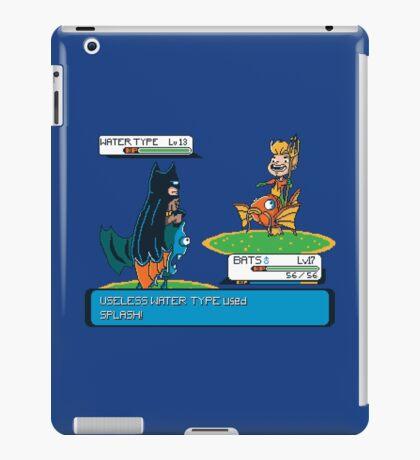 Useless Water Type iPad Case/Skin