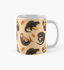 Tiny otters and their sushi Mug