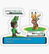 Super Speedy Type Sticker