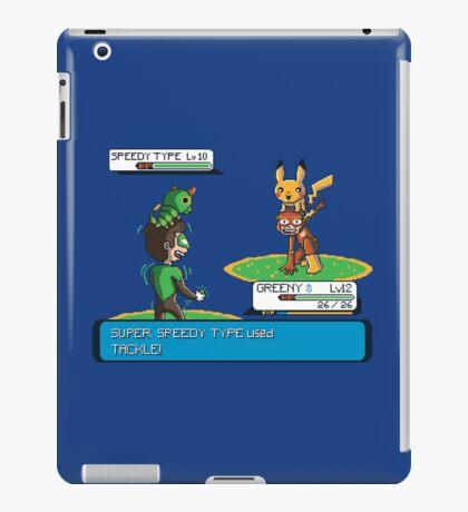 Super Speedy Type iPad Case/Skin