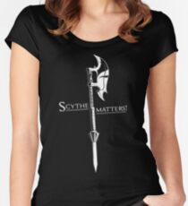 Scythe matters! Women's Fitted Scoop T-Shirt