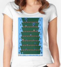 Megaman Climber Women's Fitted Scoop T-Shirt