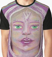 Purple Pleiadian Graphic T-Shirt