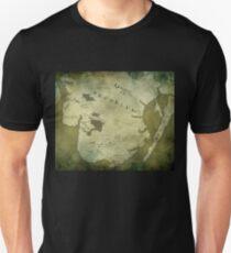 Brooklyn Map-Green T-Shirt