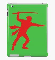 Vinilo o funda para iPad Ninja rojo