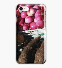 Vegetables and Fruit in Otavalo iPhone Case/Skin