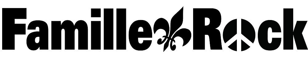 « Articles Famille Rock Logo Noir » par Ggiguere9