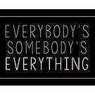 Jeder ist jemandes Alles von daburrows