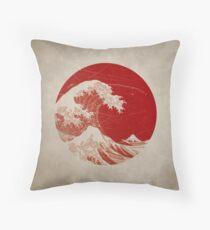 Hokusai - pillow Dekokissen