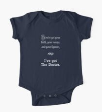 I've got The Doctor One Piece - Short Sleeve