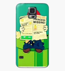 pooping Mario Case/Skin for Samsung Galaxy