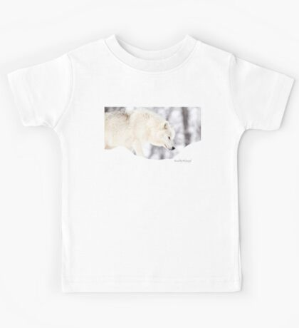 On The Prowl - Arctic Wolf Kids Clothes