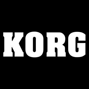 Korg White by siban