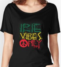 IRIE VIBES ONLY-003 Women's Relaxed Fit T-Shirt