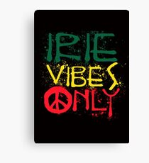 IRIE VIBES ONLY-003 Canvas Print