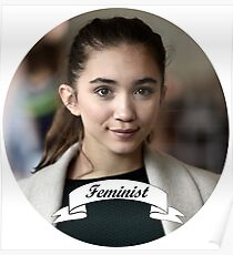 Rowan Blanchard Feminist Circle Poster