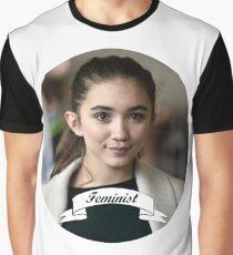 Rowan Blanchard Feminist Circle Graphic T-Shirt