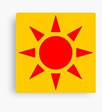 Red Sun Canvas Print
