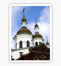 Ukrainian church in Hamilton, Ontario, Canada.  Sticker