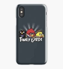 Timey Lords iPhone Case/Skin