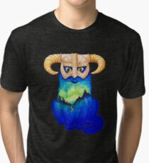 Dovahkitteh Tri-blend T-Shirt