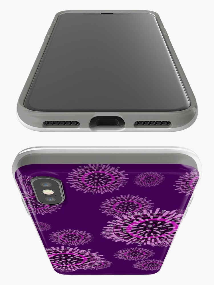 Alternate view of Influenza pattern iPhone Case & Cover