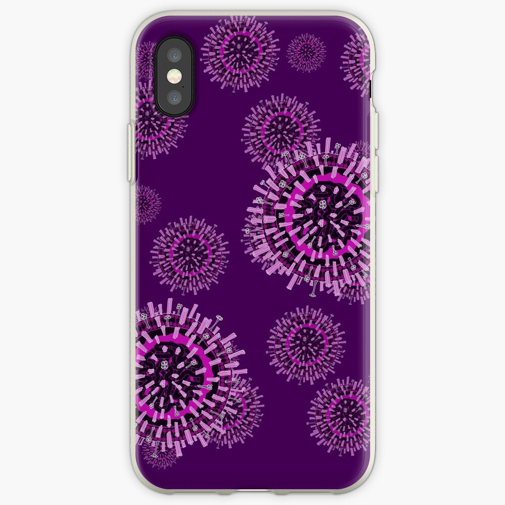 Influenza pattern iPhone Case & Cover