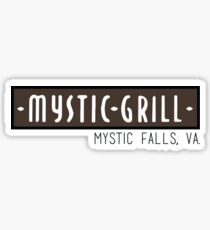 Mystic Grill - The Vampire Diaries Sticker
