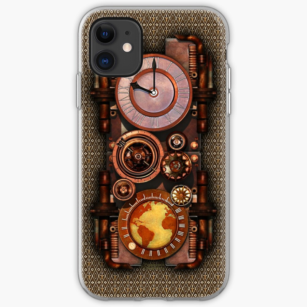 Infernal Vintage Steampunk Timepiece phone cases iPhone Case & Cover