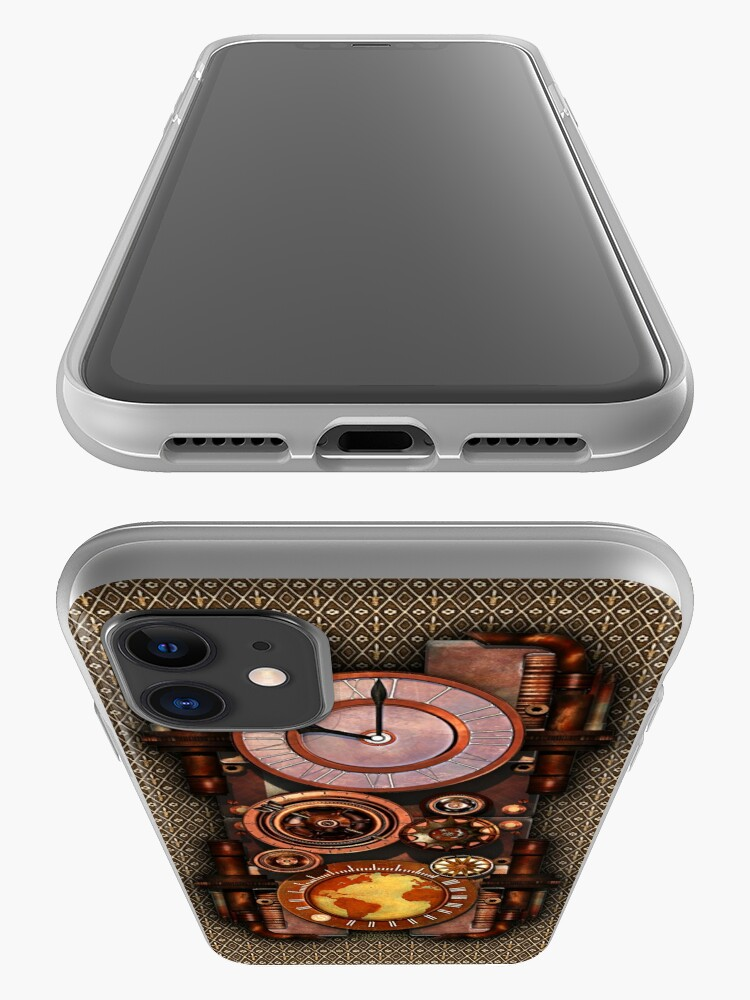 Alternate view of Infernal Vintage Steampunk Timepiece phone cases iPhone Case & Cover