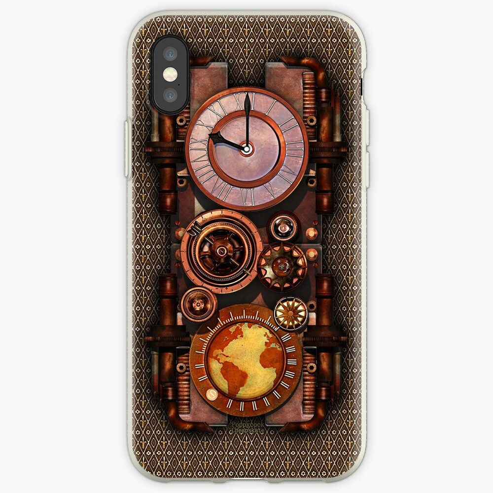 Infernal Vintage Steampunk Timepiece phone cases iPhone Cases & Covers