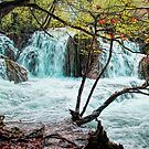 Plitvice Waterfalls by Colin Metcalf