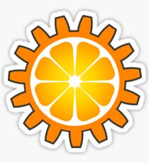 Orange You Glad 2 Sticker