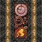 Elegant Steampunk Timepiece Steampunk phone cases by Steve Crompton