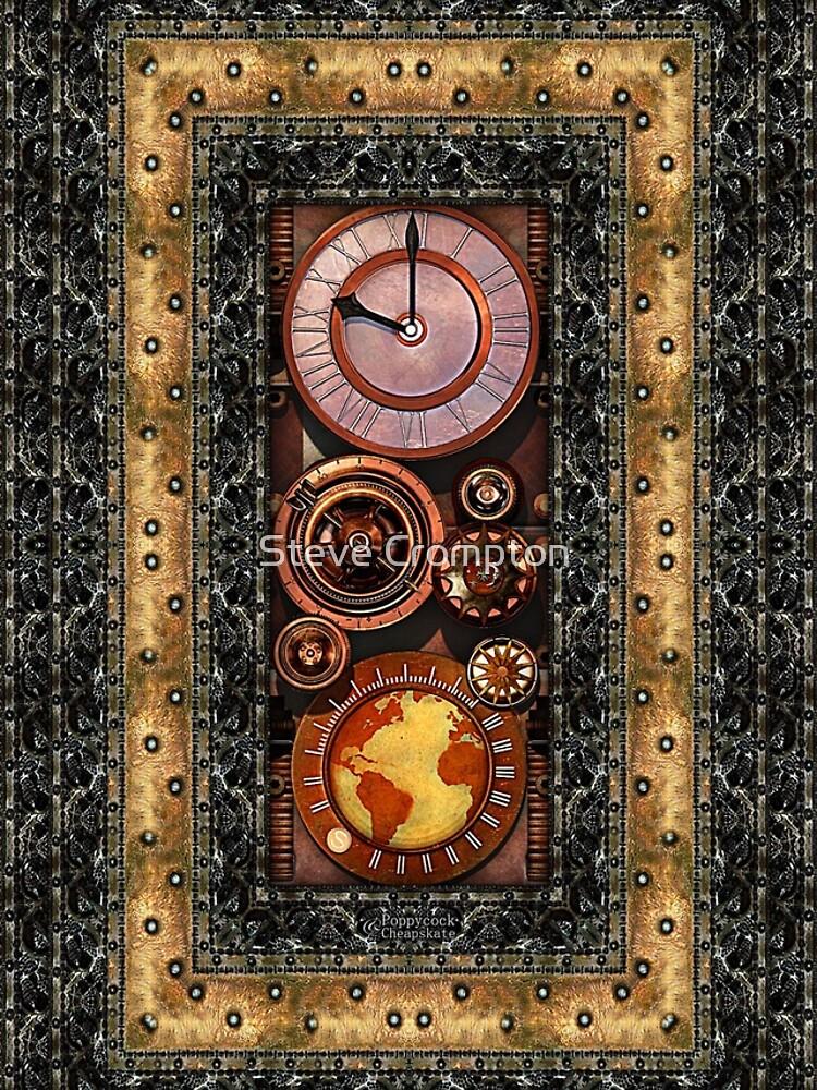 Elegant Steampunk Timepiece Steampunk phone cases by SC001